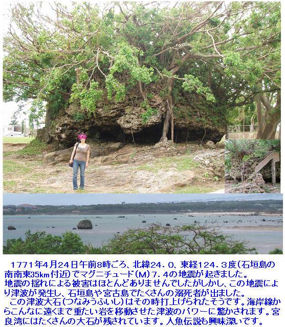 石垣島・川平の宿泊なら Hills Yamabare 津波大石