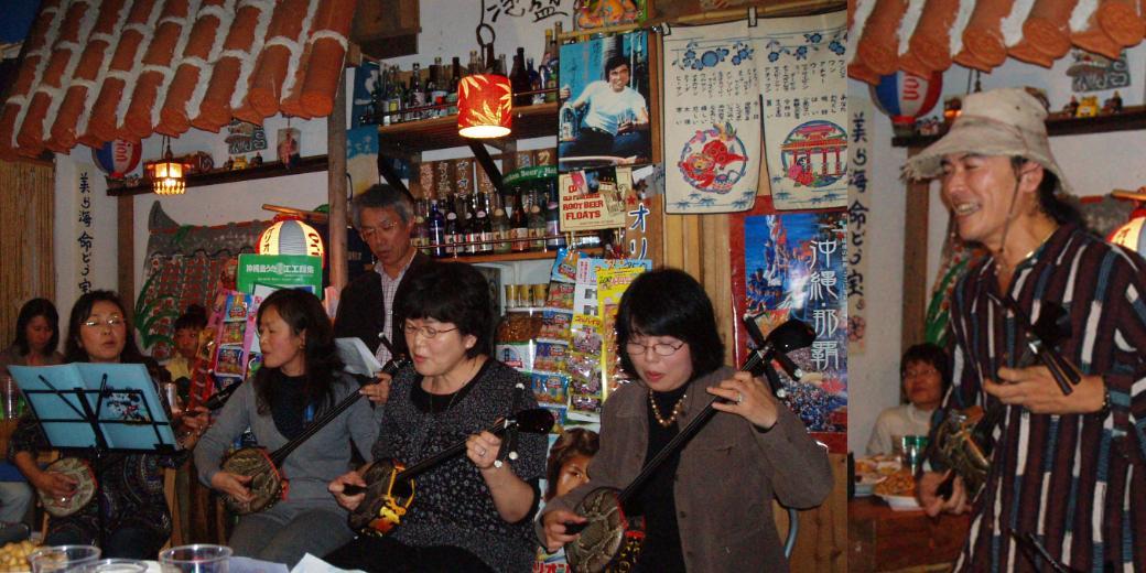 石垣島・川平の宿泊 八重山文化 Hills Yamabare 三線
