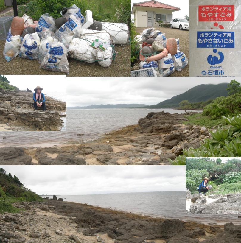 ひるずやまばれ 海岸 ボランティア 清掃 漂着ゴミ 石垣市 貸別荘
