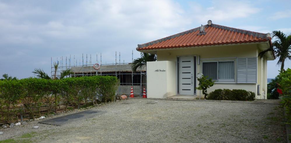 ヒルズヤマバレ 西側 隣地 建築 工事 躯体工事完了 仕上工事