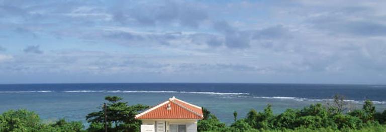 ひるずやまばれ 海眺望 サンゴ礁 東シナ海