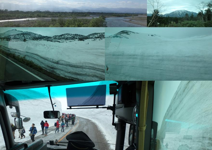 ヒルズヤマバレ 立山 黒部 アルペンルート 雪の大谷 ケーブルカー 高原バス