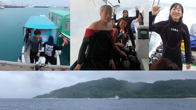 hillsyamabare 石垣島 石崎 シューノーケル ボート インストラクター 熱帯魚