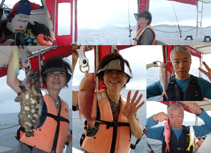 石垣島 ボート 釣り 本格 大物 キビナゴ