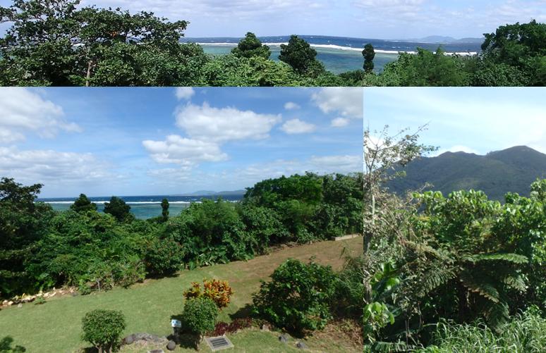 ヒルズヤマバレ テラス 海 眺望 桴海於茂登岳