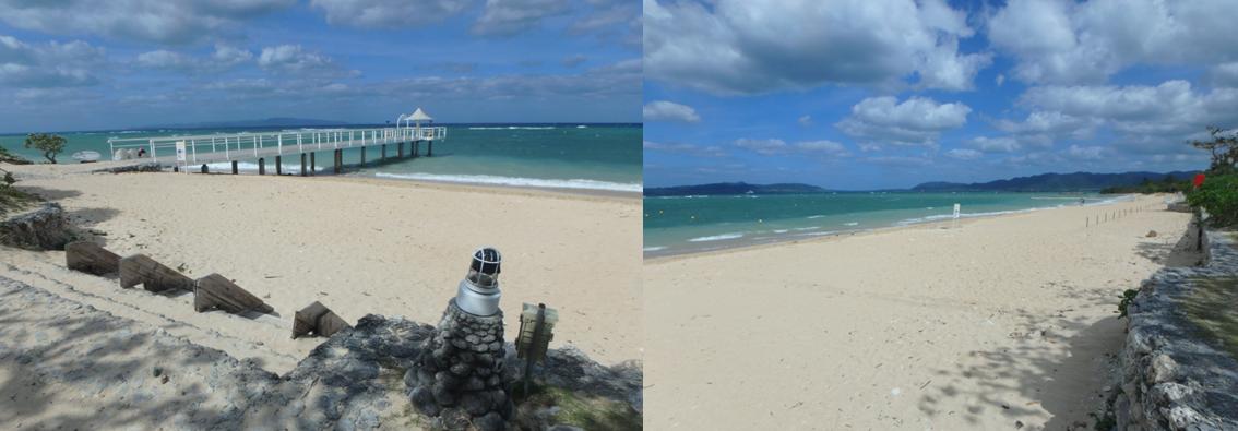 フサキ ビーチ 白浜 美しい
