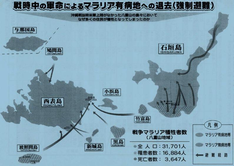 日本軍命 マラリア