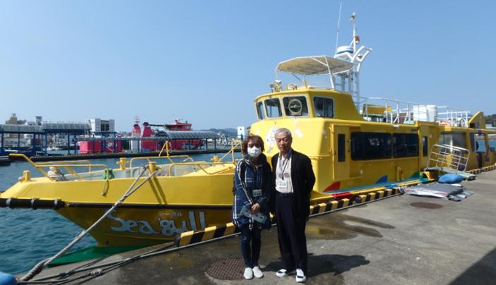 福江湊 定期 船