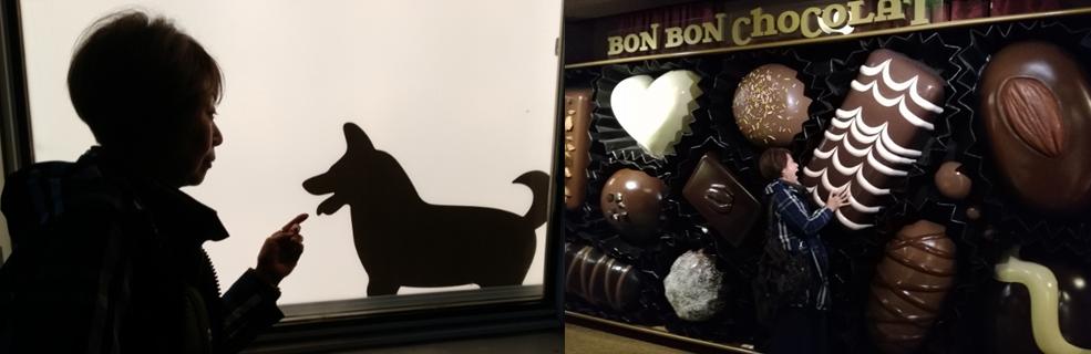 影絵 チョコレート