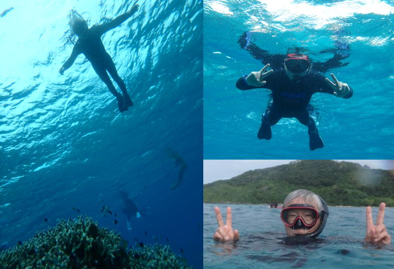 石崎 シュノーケル サンゴ礁