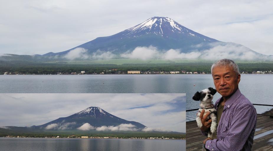 富士 山中湖 湖畔